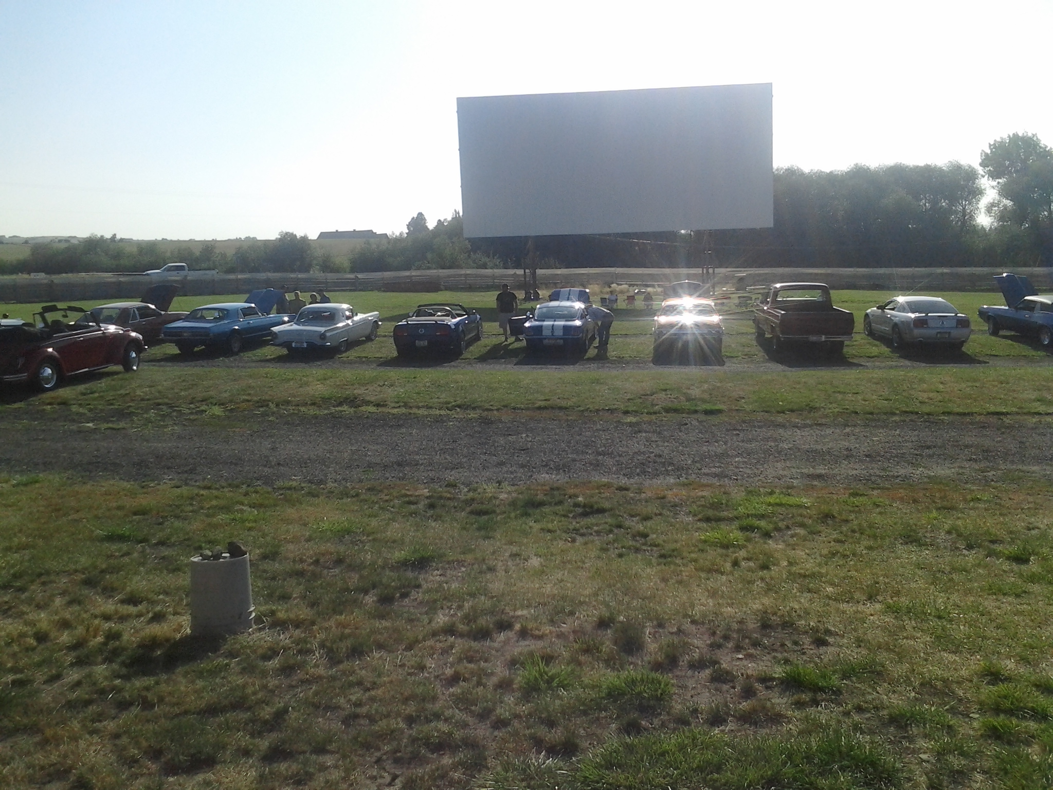 Grangeville drive in theater